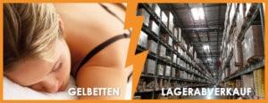 Gelbetten Lagerabverkauf - bis zu 40% reduziert